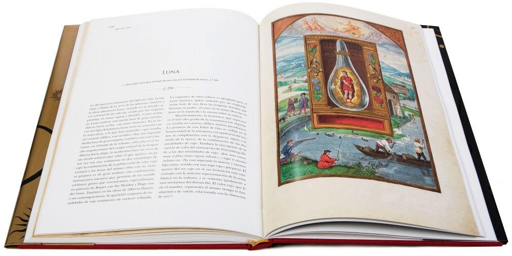 Luna in the Splendor Solis, alchemical codex, Harley Ms. 3469 (1582, Germany) British Library