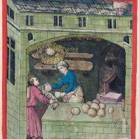 f. 62v, Millet bread