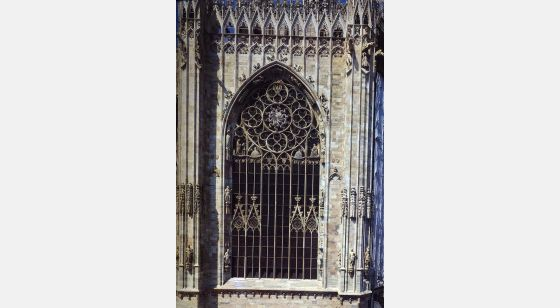 Talleres de Arquitectura en la Edad Media Milan, Italy, Duomo, view of the apse from the eastern side, 14th C.