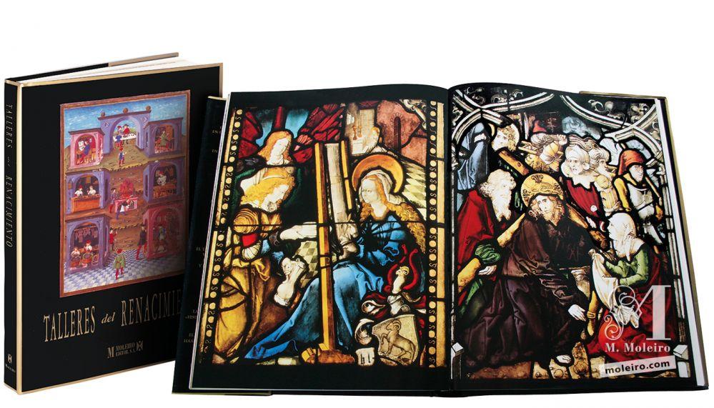 Talleres del Renacimiento Portada y lomo del Talleres del Renacimiento. Imagen de María Tejedora y Cristo con la cruz a cuestas