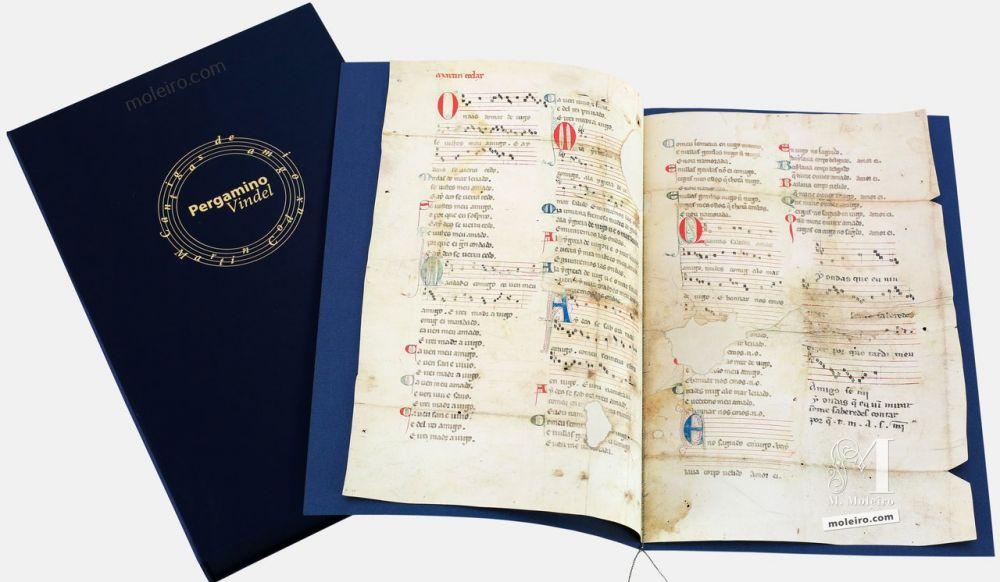 das Vindel Pergament von Martin Codax -The Morgan Library & Museum, New York
