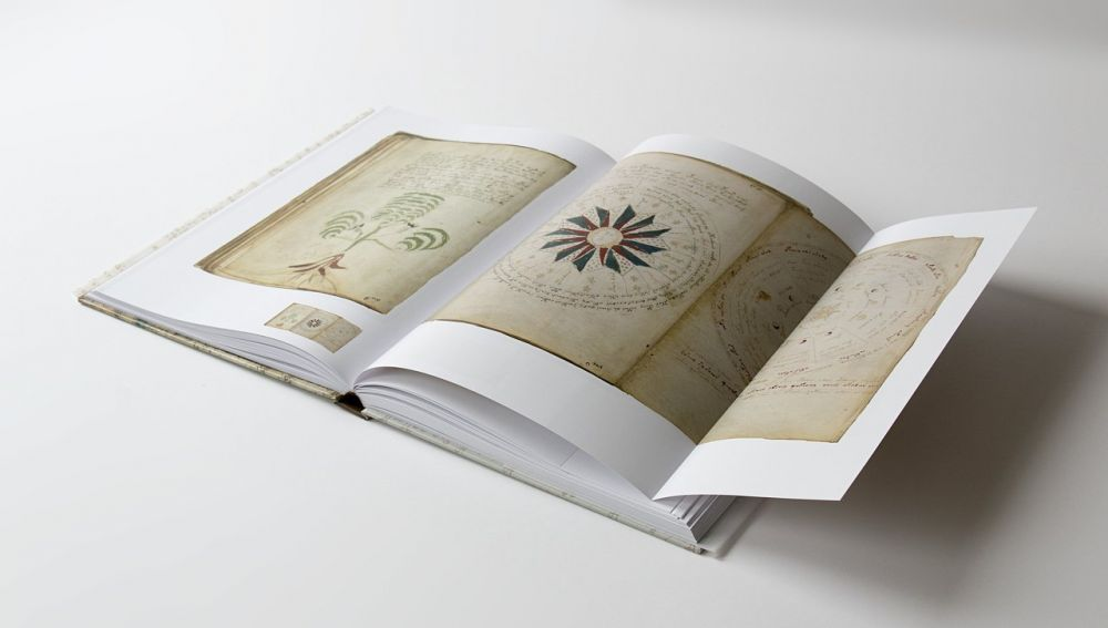 Das Voynich-Manuskript Ausklappbare Seiten des Voynich-Manuskripts