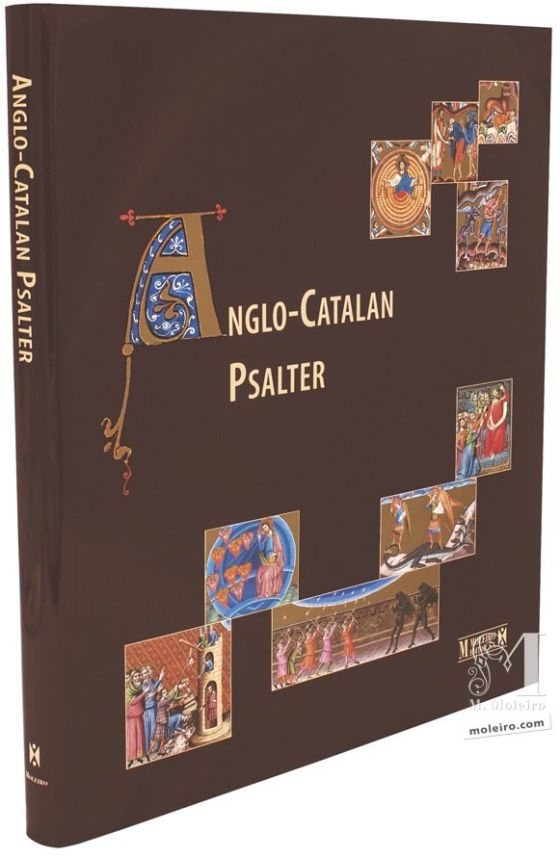 Anglo-Catalan Psalter Detail flyleafs of the Anglo-Catalan Psalter