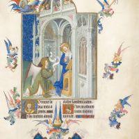 Fol. 26v - The Annunciation