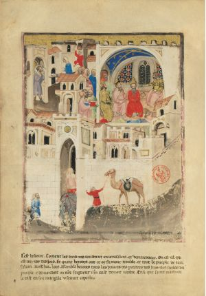 Bible moralisée of Naples