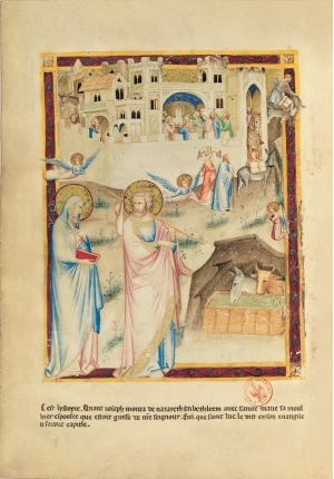 Bible moralisée aus Neapel