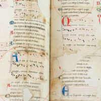Cantiga 4 of the Vindel Parchment by Martin Codax - The Morgan Library & Museum, New York